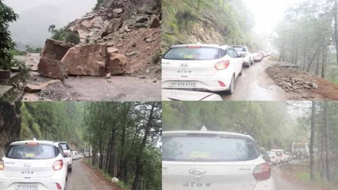 Landslides are happening continuously in Himachal Pradesh