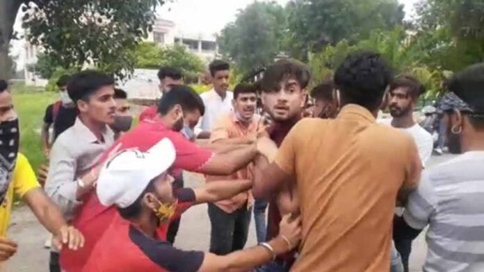 Activists of student organizations clashed in college